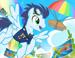 Matt Hill Request / Soarin by PixelKitties
