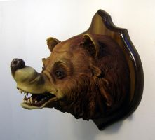 Kitsch of the Cave Bear by thebiscuitboy