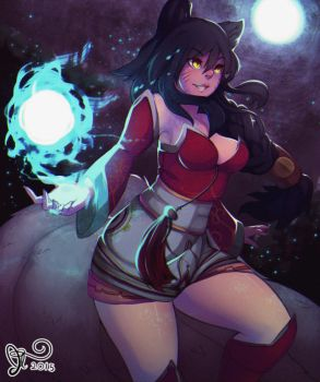 Ahri for March's Patreon Campaign by 5-ish