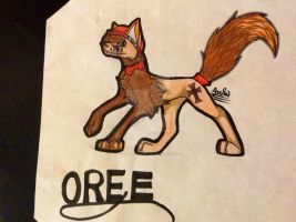 My characters: OREE by KomainuUltra
