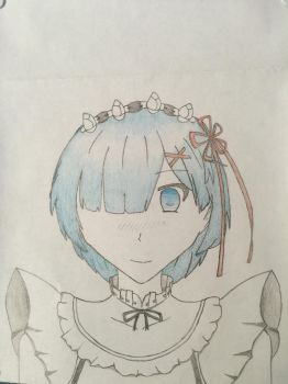 Re-Zero Rem by Unknownghost156
