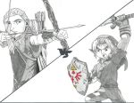 Link Vs Legolas Greenleaf by Bluexorcist93