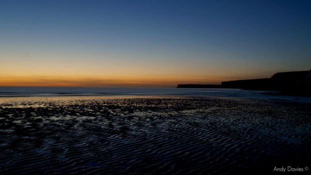 Sunset, Birling Gap by Andyd4