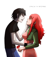 Commission : Jack x Rose by Angy89