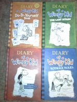 Diary of a wimpy kid books by haloforger215