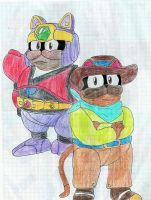 Brothers Catton and Larry by Dreadmon
