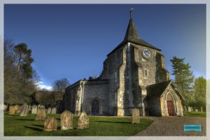 St Michaels -  Mickleham 1 of 3 by MikeyMonkey
