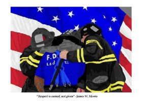 343 firefighters : Brothers by NickiAngel