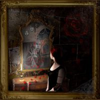 Figure In the Mirror by SlientSweetSerenity