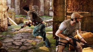 uncharted 2 in game pic. by jon-55