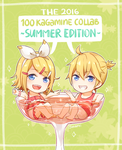 The 100 Kagamine Collaboration -Summer Edition- by usarei