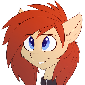 My mane is red by Capseys