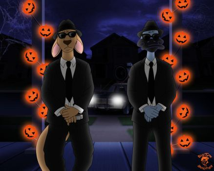 Halloween '14: Socko N Tucker - The Blues Brothers by TheEdMinistrator765