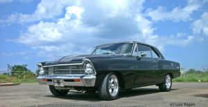67' Chevy Nova coupe front by Mister-Lou