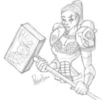 Space Marine by WatchTehTail