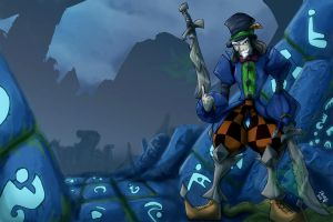 Shaco_maddhatter COMISH by HeroPill