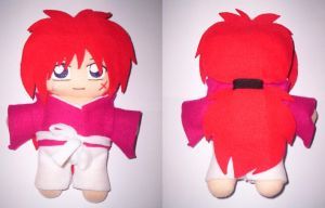 kenshin plushie by VioletLunchell