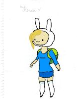 Adventure Time- Fionna the Human by JoBoBunny