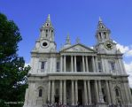 St Paul's Cathedral (Front) by cyanthree
