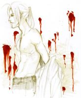 FMA: shirtless by cellardoorsky