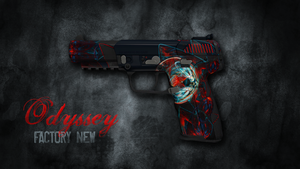 Five-SeveN   Odyssey by WhitneyDewel