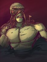 Swampthing Colored! by JohnnySlade