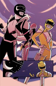All New Black and Yellow Rangers from MMPR: Pink#2 by KoT4