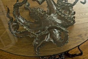 Bronze Octopus Table by bronze4u