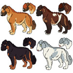 Dog Batch 1 CLOSED by luckdown