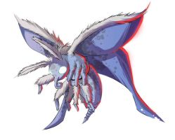 Frost moth colored by Message-Err