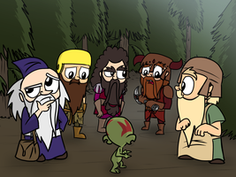 Lord of the Dwarves - Directions by petirep