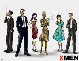 Mad X Men by rocom