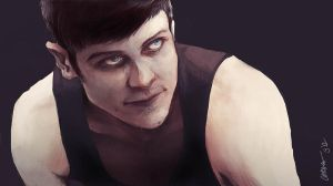 Simon from Misfits by Shinohahn-chan