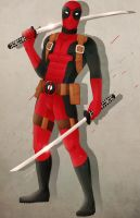 Deadpool by DandyBee