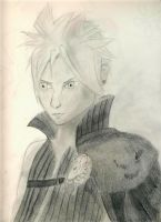 Cloud Strife by HPxZelda