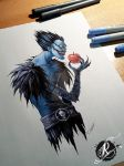 Ryuk Tattoodesign for Markus by ritchat
