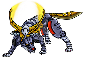 Metalgarurumon by Brittlebear