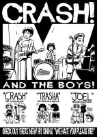 Crash and The Boys poster by Saphin
