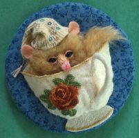 The Dormouse by imagination-heart