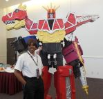 Shinji and the Dino Charge Megazord by R-Legend