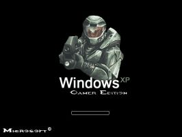 Windows XP Gamer Edition: Halo by Zer0Undead