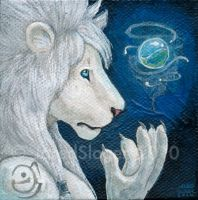 White Lion by AokiBengal