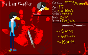 The Last Conflict Application- Astrid Abendroth by 24Wolfy42