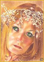 A Mermaid's Crown - ACEO by Katerina-Art