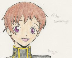 Rolo Lamperouge -Color- by InuKid