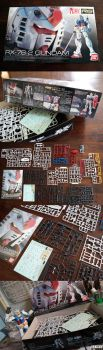 RG RX78:Kit Contents by enc86