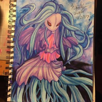 Jellyfish Mermaid by Sniffy678578