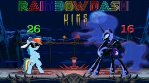 Pony Kombat Tournament Round 1, Battle 5 (Result) by Mr-Kennedy92