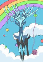 Head it, Xerneas! by kovuification