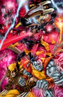 XMEN groupshot final colors by gammaknight
